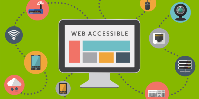 web accessibility image
